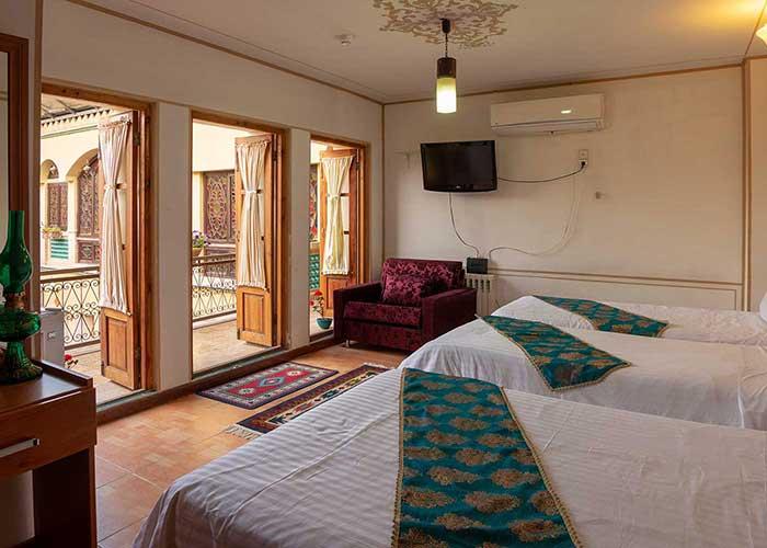 چهار تخته هتل طلوع خورشید اصفهان