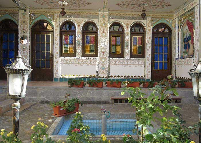 معماری هتل طلوع خورشید اصفهان