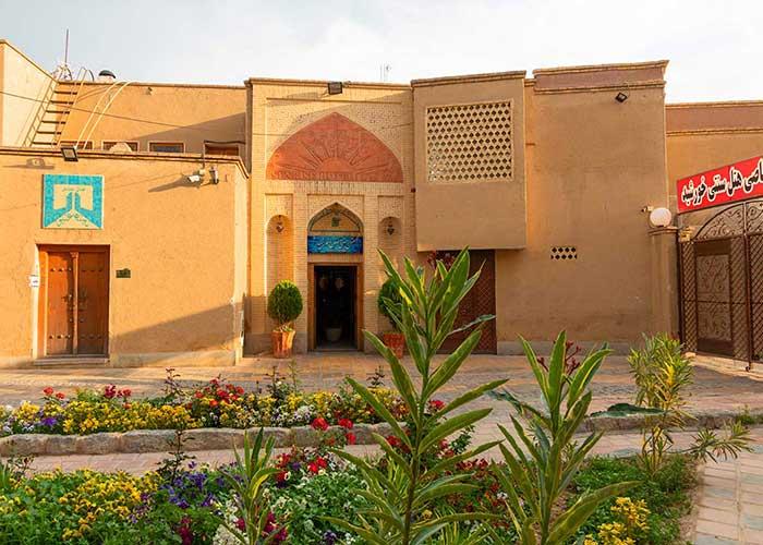 ورودی هتل طلوع خورشید اصفهان