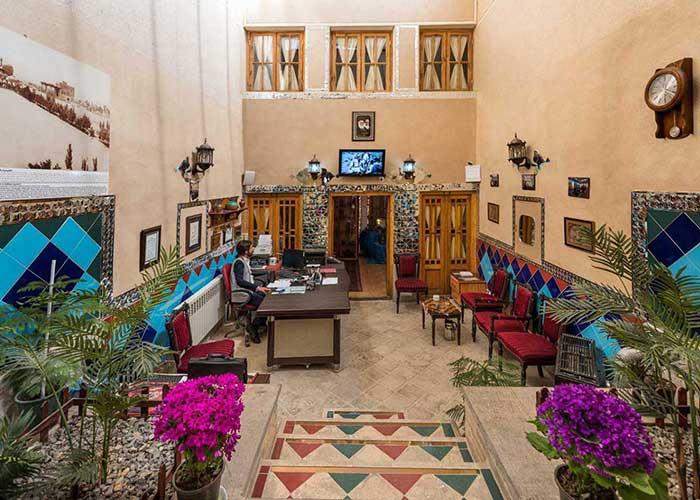 پذیرش هتل طلوع خورشید اصفهان
