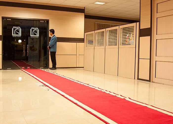 ورودی هتل ورزش تهران