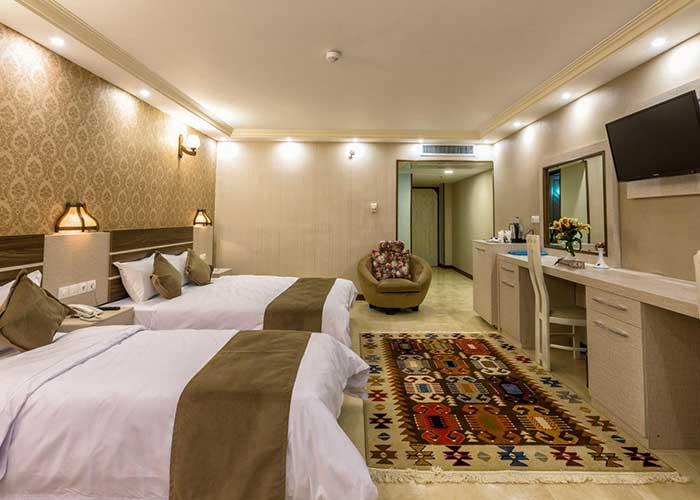 سه تخته هتل ونوس اصفهان