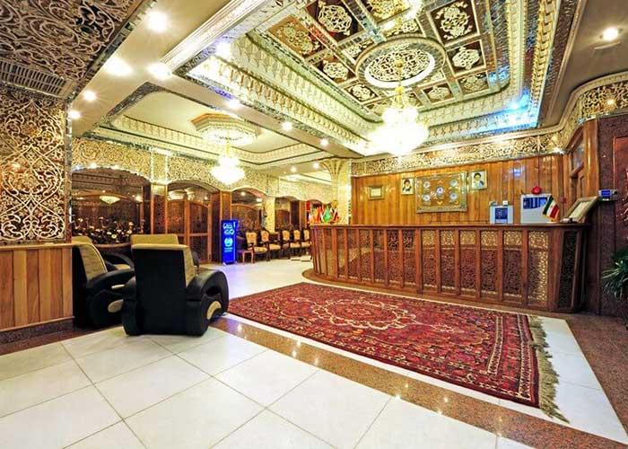 پذیرش هتل ونوس اصفهان