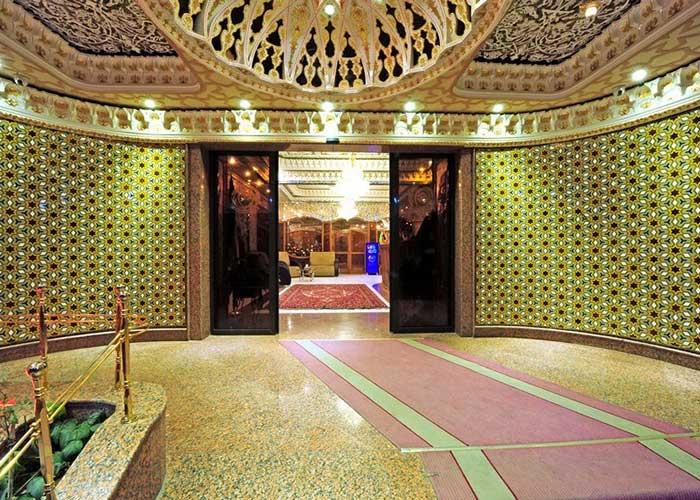 تصاویر ورودی هتل ونوس اصفهان