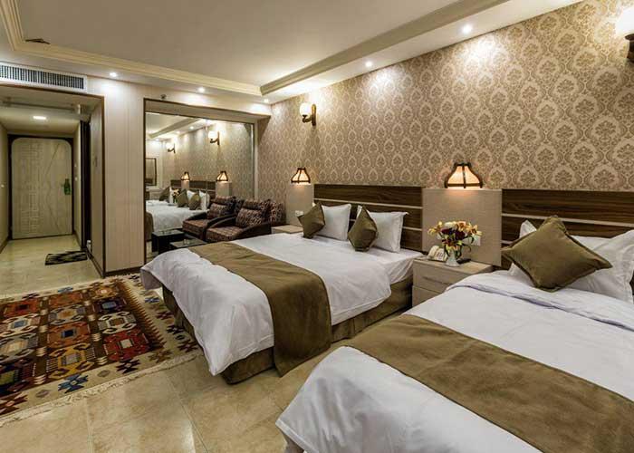 تصاویر اتاق سه تخته هتل ونوس اصفهان