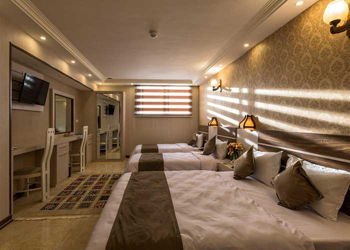 چهار تخته هتل ونوس اصفهان