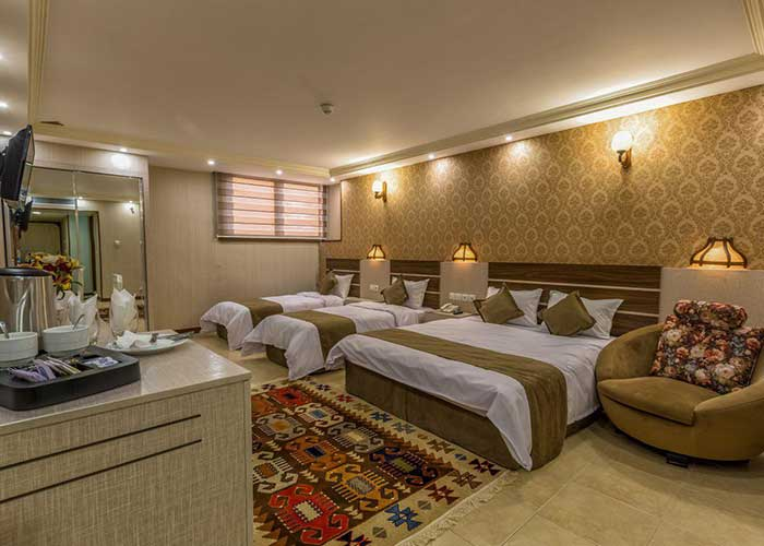 اتاق چهار تخته هتل ونوس اصفهان