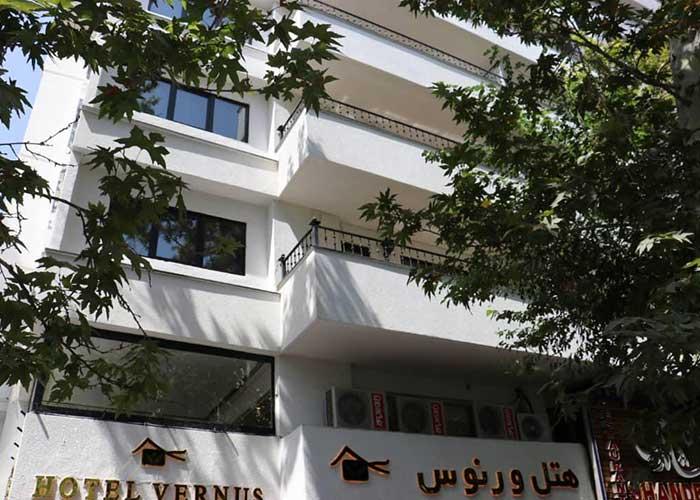 ساختمان هتل ورنوس تهران