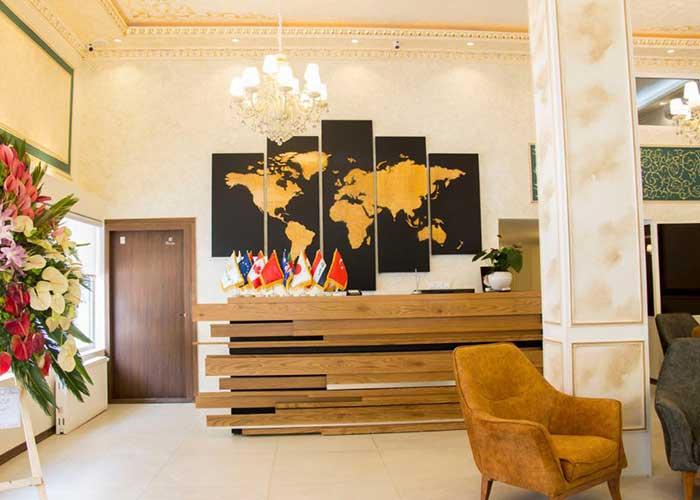پذیرش هتل ورنوس تهران