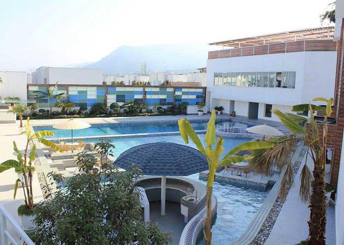 تصاویر استخر هتل وستا تنکابن