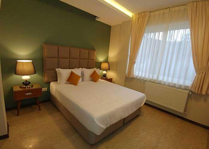 اتاق های هتل وستا تنکابن