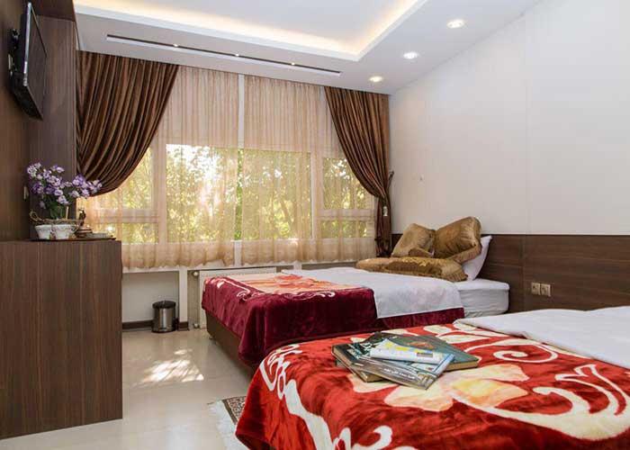 اتاق چهار تخته هتل ویانا اصفهان