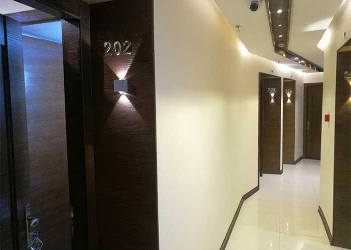 راهرو هتل ویانا اصفهان
