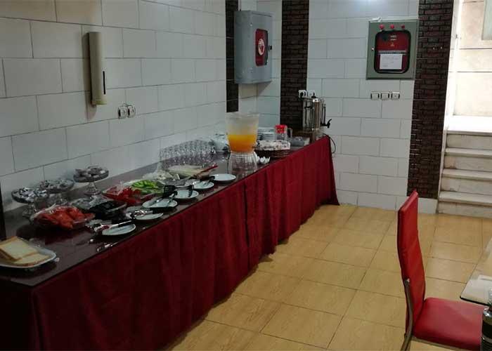صبحانه هتل ویانا اصفهان