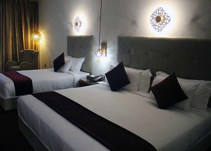 اتاق سه تخته هتل ویدا کیش