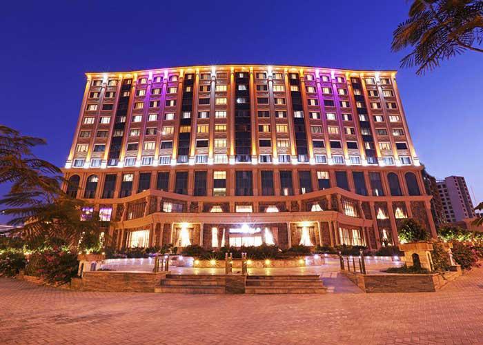 ساختمان هتل ویدا کیش