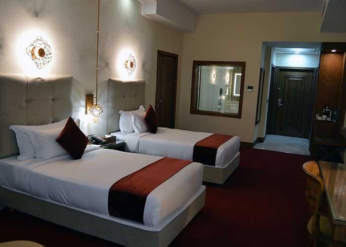 اتاق دو تخته توئین هتل ویدا کیش