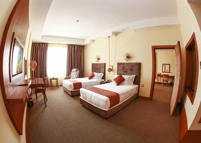 اتاق کانکت هتل ویدا کیش