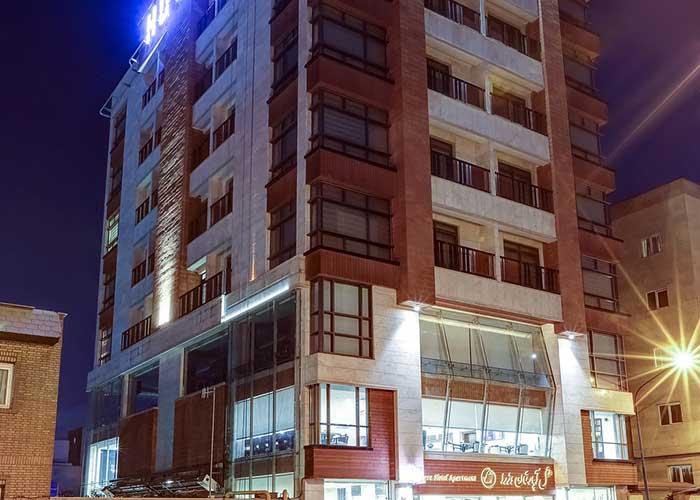 ساختمان هتل آپارتمان وزرا تهران