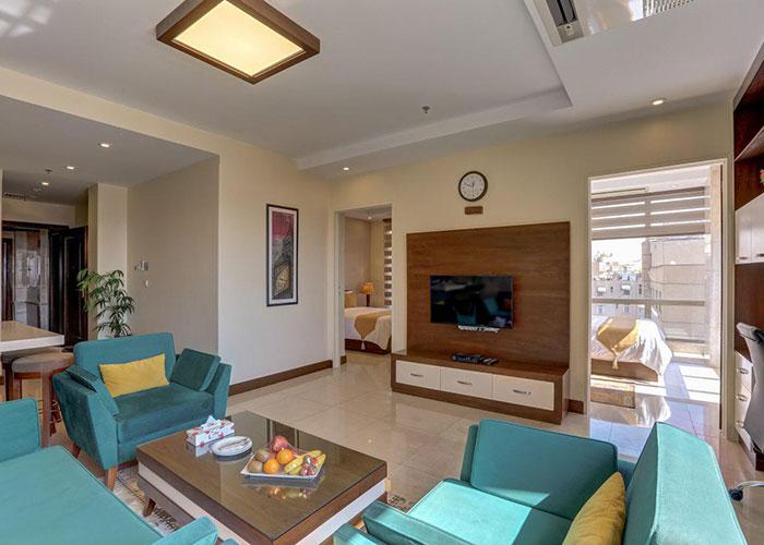 عکس سوئیت هتل آپارتمان وزرا تهران