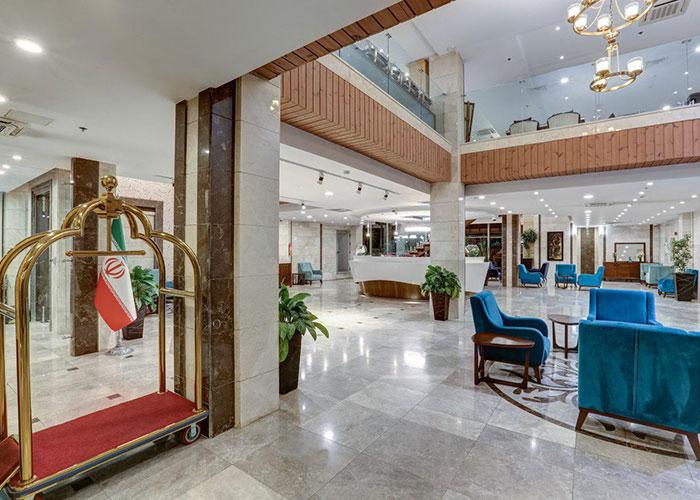 لابی هتل آپارتمان وزرا تهران
