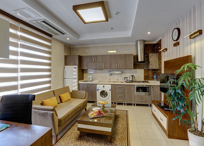 اتاق هتل آپارتمان وزرا تهران