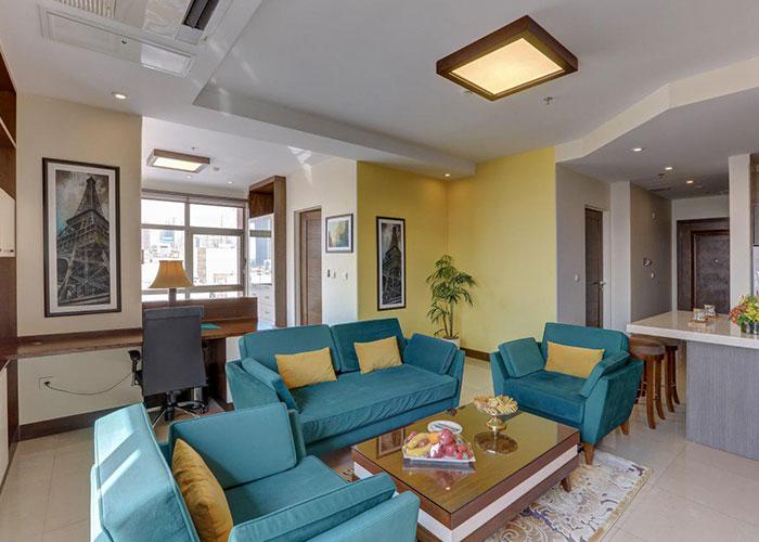 هتل آپارتمان وزرا تهران