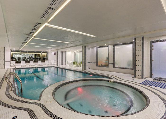 استخر هتل آپارتمان وزرا تهران
