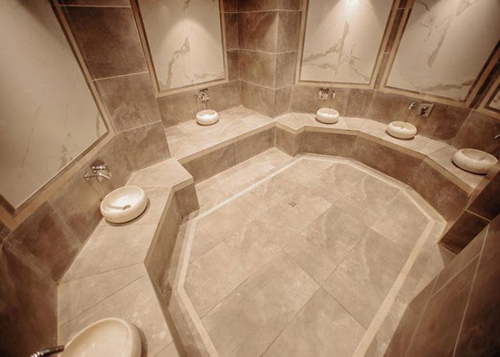 حمام ترکی هتل ویستریا تهران