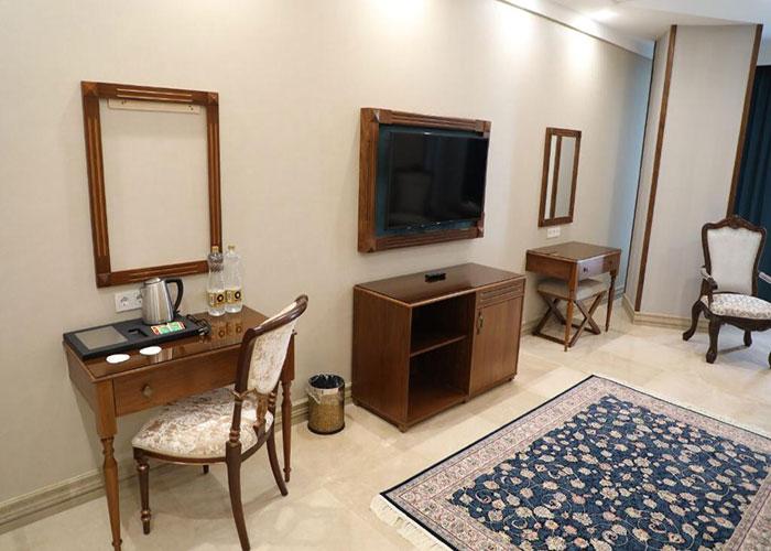 امکانات اتاق هتل ویستریا تهران