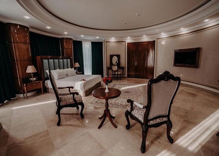 مبلمان اتاق هتل ویستریا تهران