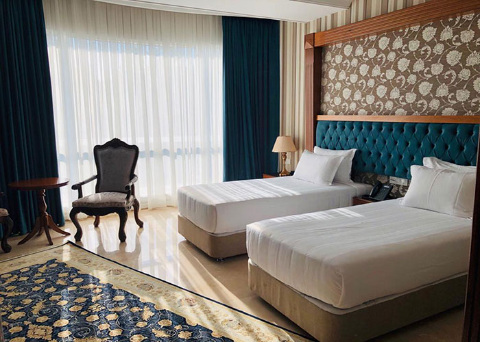 اتاق دو تخته توئین هتل ویستریا تهران