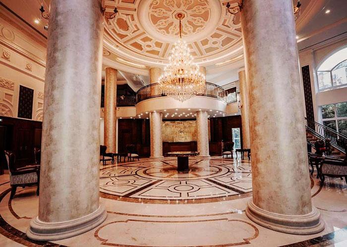 لابی هتل ویستریا تهران