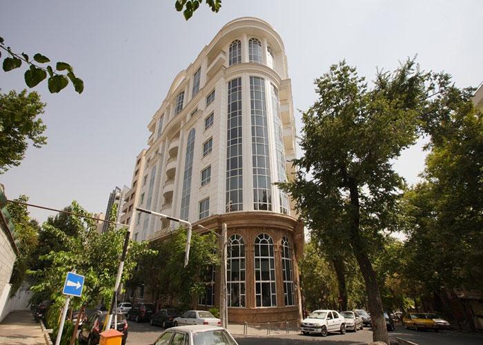 ساختمان هتل ویستریا تهران