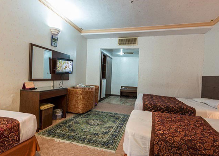 چهار تخته هتل پارسیان یزد