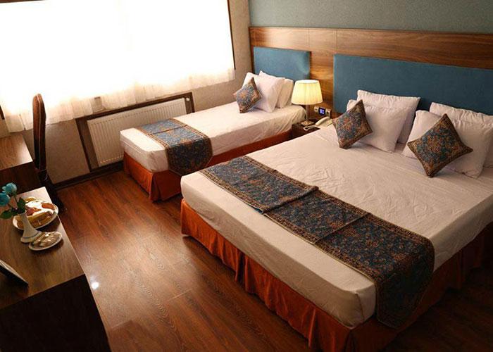 تصاویر اتاق هتل پارسیان یزد