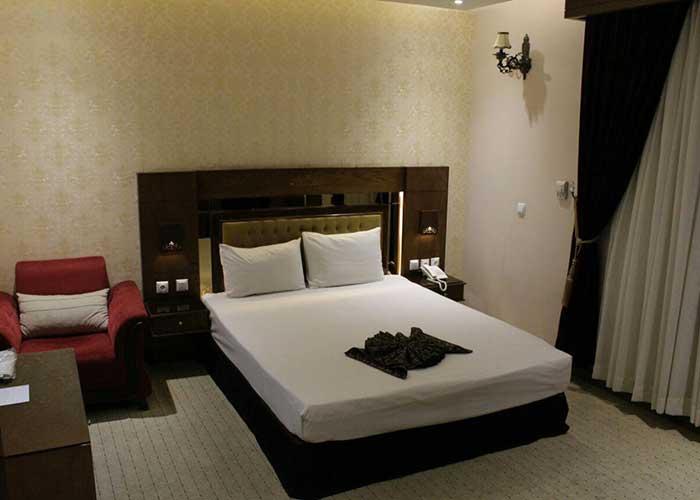 عکس اتاق هتل ذاکر مشهد
