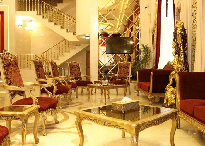 لابی هتل ذاکر مشهد