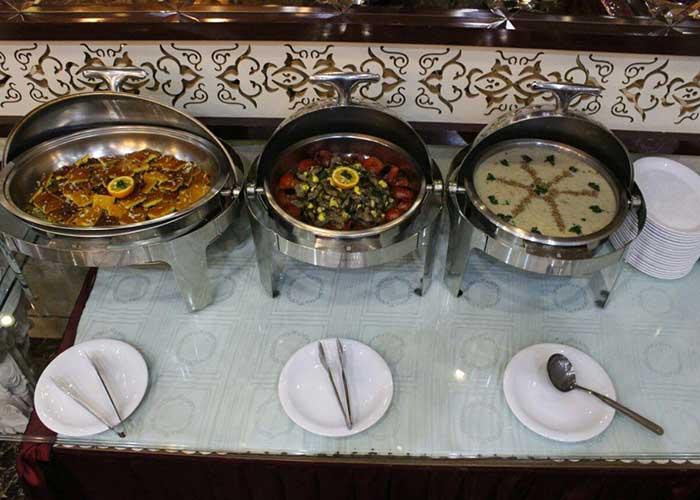 تصاویر رستوران هتل ذاکر مشهد