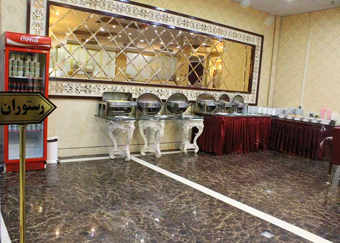 عکس رستوران هتل ذاکر مشهد