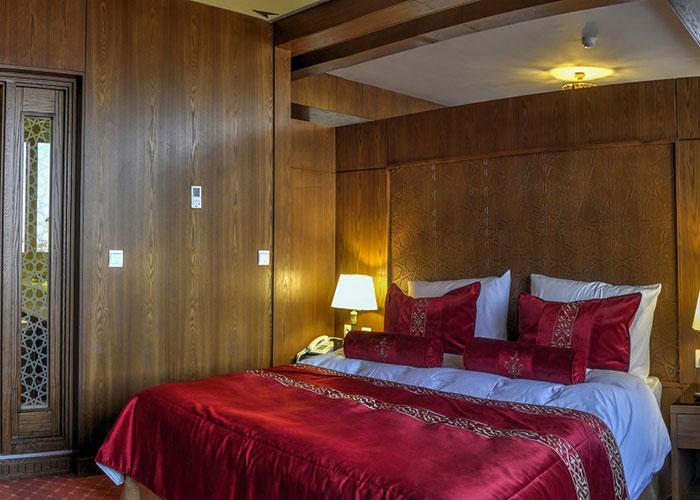 اتاق های هتل زندیه شیراز