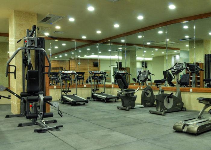 سالن بدنسازی هتل زندیه شیراز