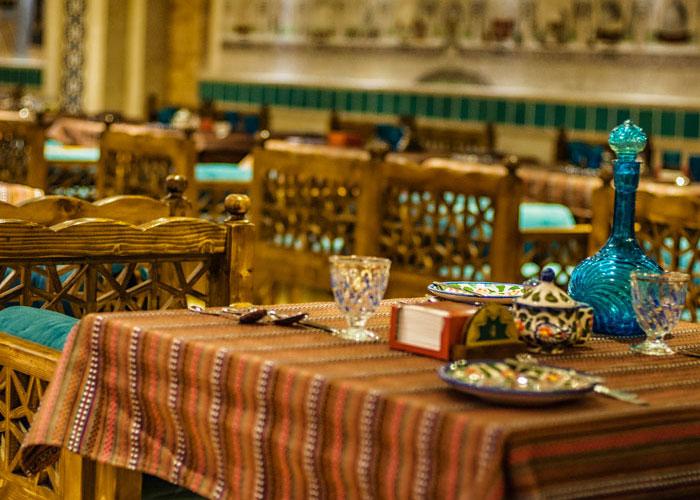 رستوان سنتی هتل زندیه شیراز