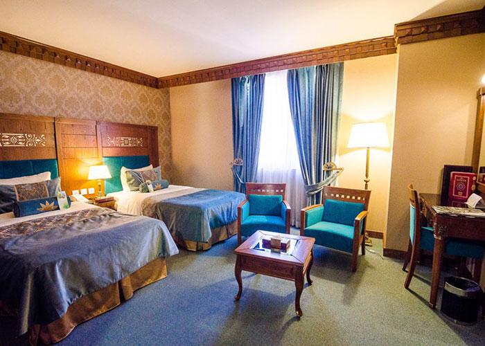 اتاق های هتل زندیه
