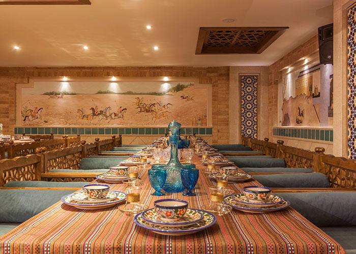 رستوان سنتی هتل زندیه