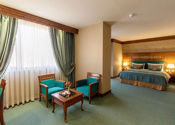 تصاویر اتاق های هتل زندیه شیراز