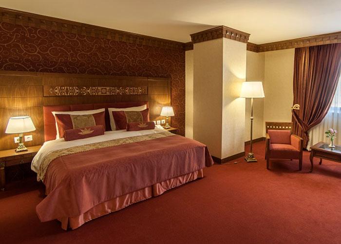 عکس اتاق های هتل زندیه شیراز