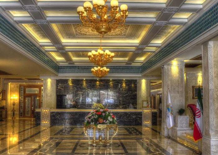 تصاویر لابی هتل زندیه شیراز
