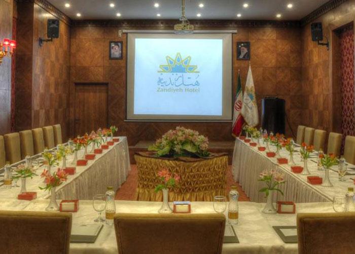 سالن همایش هتل زندیه شیراز