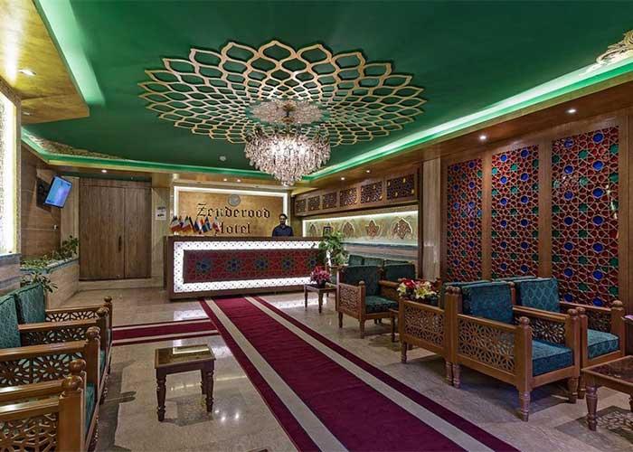 لابی هتل زنده رود اصفهان